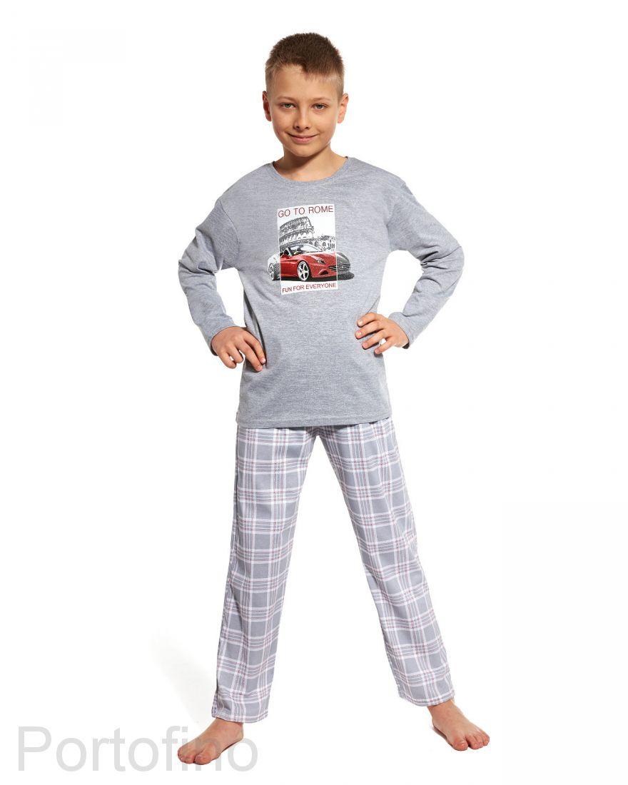 809-69 Пижама для подростка длинный рукав Cornette